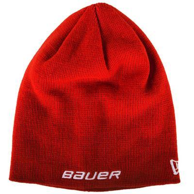 Red (Bauer Toque Knit Hat - Adult)