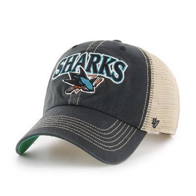Front (47 Brand San Jose Sharks Tuscaloosa Cap)
