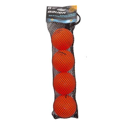 Orange (Bauer HydroG Liquid-Filled No Bounce Street Hockey Balls)