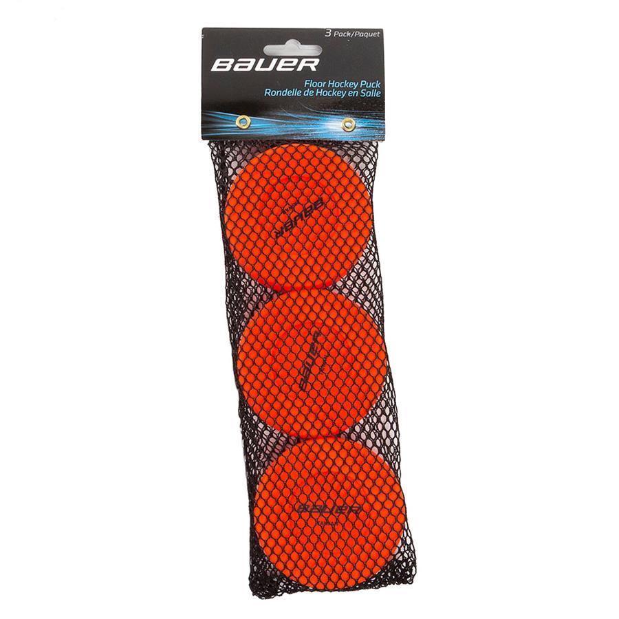 bauer floor hockey pucks pure hockey equipment