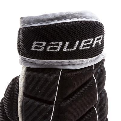 Cuff View (Bauer Performance Street Hockey Gloves)