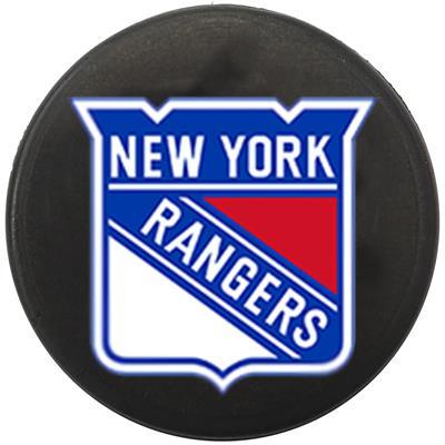 Single Charm (Sher-Wood NHL Mini Puck Charms - New York Rangers)