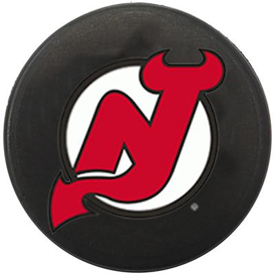 Single Charm (Sher-Wood NHL Mini Puck Charms - New Jersey Devils)
