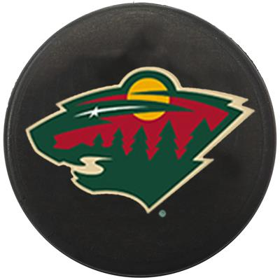 Single Charm (InGlasco NHL Mini Puck Charms - Minnesota Wild)