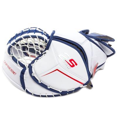 Backhand View (Bauer Supreme 2S Pro Goalie Catch Glove - Senior)