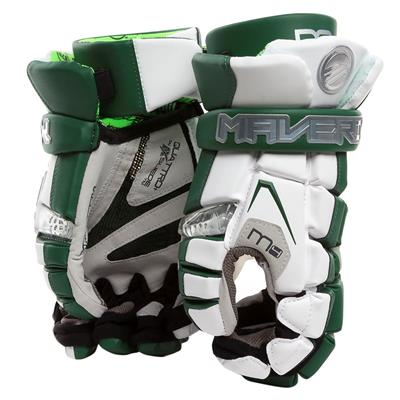 White/Green (Maverik M4 Custom Glove)