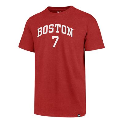 Front (47 Brand Boston University Charlie McAvoy Tee)