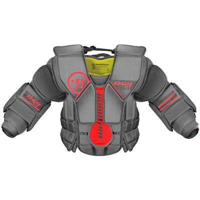 Front (Warrior Ritual G4 Goalie Chest and Arm Protector - Intermediate)