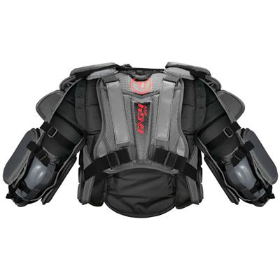 Back (Warrior Ritual G4 Goalie Chest and Arm Protector - Intermediate)