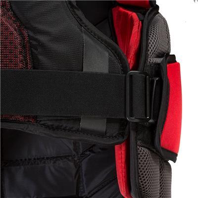 Clips (CCM Extreme Flex Shield II Goalie Chest And Arm Protector - Senior)