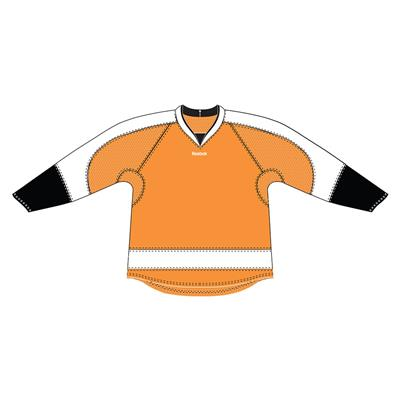 Orange (Reebok 25P00 NHL Edge Gamewear Hockey Jersey - Philadelphia Flyers)