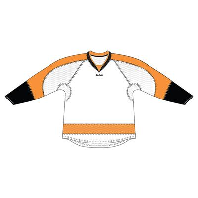 White (Reebok 25P00 NHL Edge Gamewear Hockey Jersey - Philadelphia Flyers)