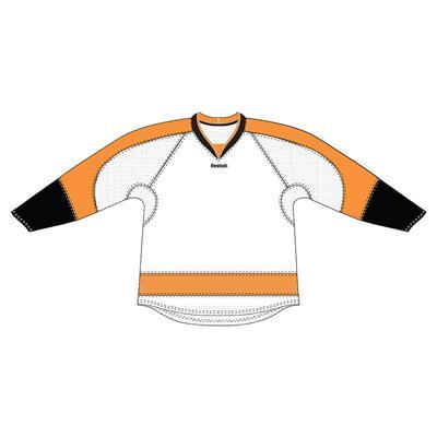 White (Reebok 25P00 NHL Edge Gamewear Hockey Jersey - Philadelphia Flyers - Senior)