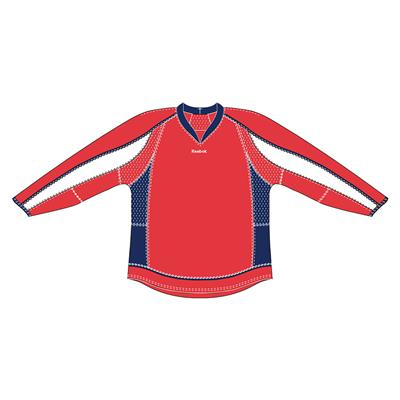 Red (Reebok 25P00 NHL Edge Gamewear Hockey Jersey - Washington Capitals)