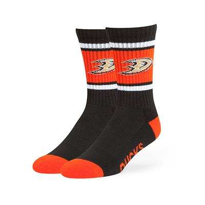 Anaheim Ducks (47 Brand NHL Team Duster Crew Socks)