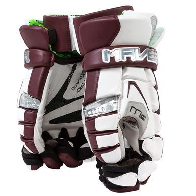 White/Maroon (Maverik M4 Custom Glove)