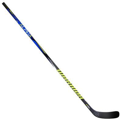 Full Length View (Warrior Alpha QX Sabre Grip Composite Hockey Stick - Senior)