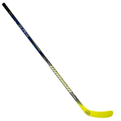 Full Length View (Warrior Alpha QX Sabre Grip Composite Hockey Stick)