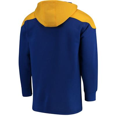 Back (Fanatics Sabres Fleece Lace Up Hoody)