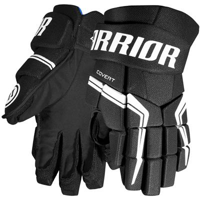 Black (Warrior Covert QRE5 Hockey Gloves)