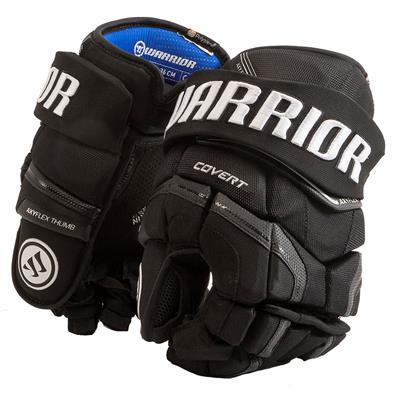 Black (Warrior Covert QR Edge Hockey Gloves)