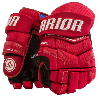 Red (Warrior Covert QR Edge Hockey Gloves)