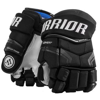 Black (Warrior Covert QRE Pro Hockey Gloves - Senior)
