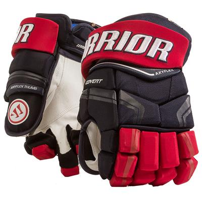 Navy/Red/White (Warrior Covert QRE Pro Hockey Gloves - Senior)