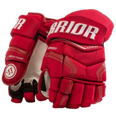 Red (Warrior Covert QRE Pro Hockey Gloves - Senior)