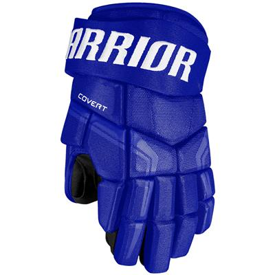 Royal (Warrior Covert QRE4 Hockey Gloves - Senior)