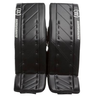 Black/Black (Warrior Ritual G4 Goalie Leg Pads - Senior)