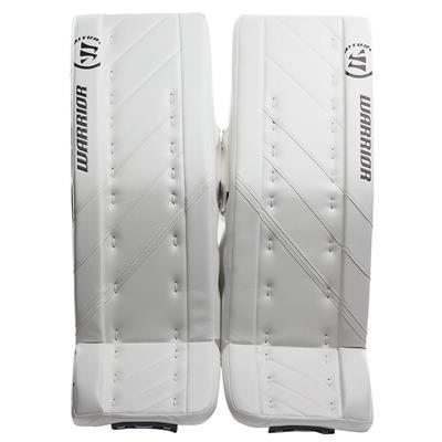 White/White (Warrior Ritual G4 Goalie Leg Pads - Intermediate)