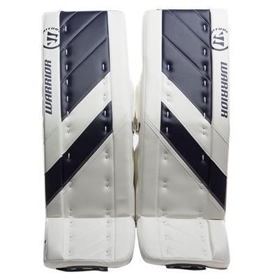 White/Navy (Warrior Ritual G4 Goalie Leg Pads)