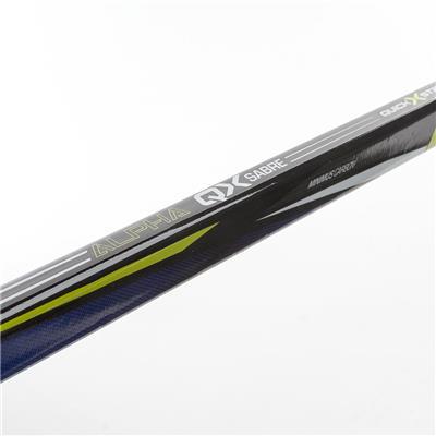Shaft (Warrior Alpha QX Sabre Grip Composite Hockey Stick)