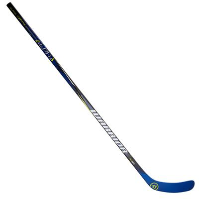 Full Length View (Warrior Alpha QX Strike Pro Grip Composite Hockey Stick)
