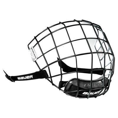 I2 (Black Outside, White Inside) (Bauer Profile II Facemask)