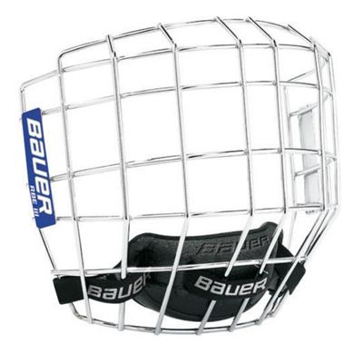 Chrome (Bauer RBE III Facemask - Senior)