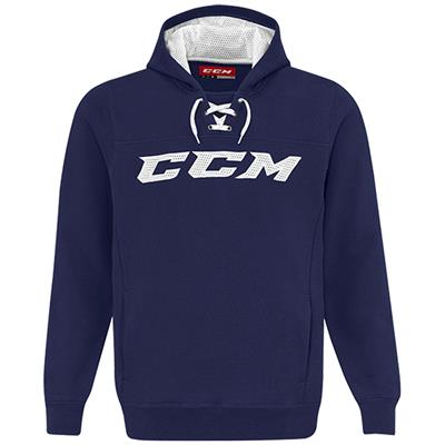 Navy/White (CCM True To Hockey Pullover Lace Hoody - Senior)