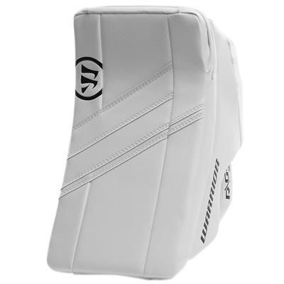 White/White (Warrior Ritual G4 Goalie Blocker - Senior)