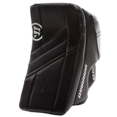 Black/Black (Warrior Ritual G4 Goalie Blocker)
