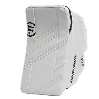 White/White (Warrior Ritual G4 Pro Goalie Blocker)