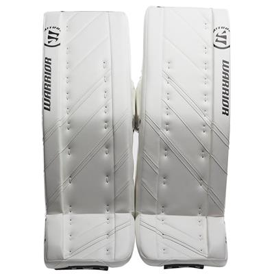 White/White (Warrior Ritual G4 Pro Goalie Leg Pads - Senior)