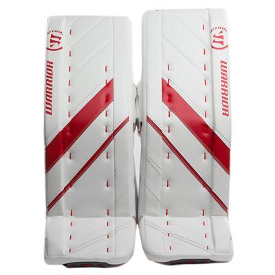 White/Red (Warrior Ritual G4 Pro Goalie Leg Pads)