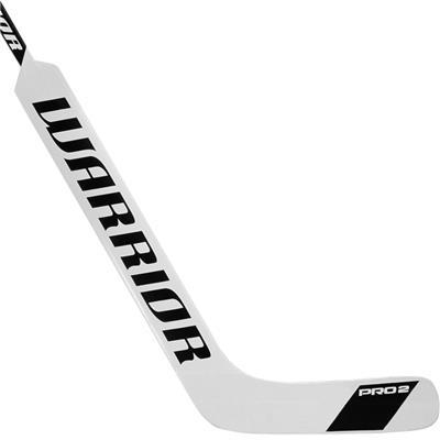 White/Black (Warrior Swagger Pro 2 Foam Core Goalie Stick - Senior)