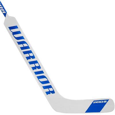 White/Blue (Warrior Swagger Pro 2 Foam Core Goalie Stick - Senior)
