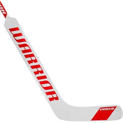 White/Red (Warrior Swagger Pro 2 Foam Core Goalie Stick - Senior)