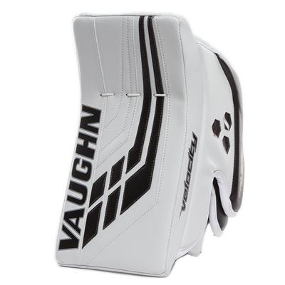 White/Black (Vaughn Velocity VE8 Pro Carbon Goalie Blocker)