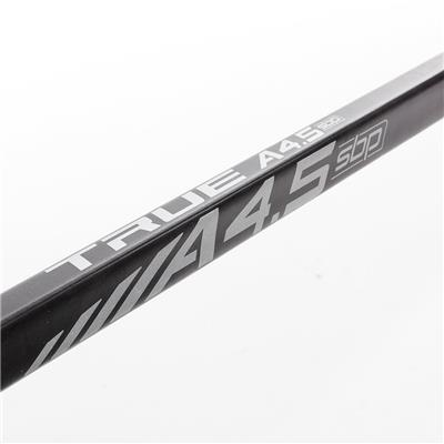 Shaft View (TRUE A4.5 SBP Grip Composite Hockey Stick 2018 - Junior)