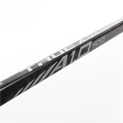 Shaft View (TRUE A1.0 SBP Composite Hockey Stick 2018)