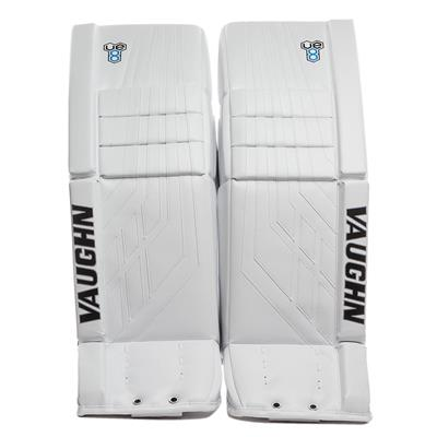 White/White (Vaughn Velocity VE8 Pro Carbon Goalie Leg Pads)